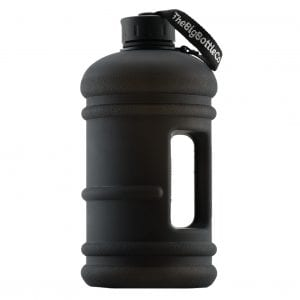 Jet Black 2.2L BPA Free Water Bottle