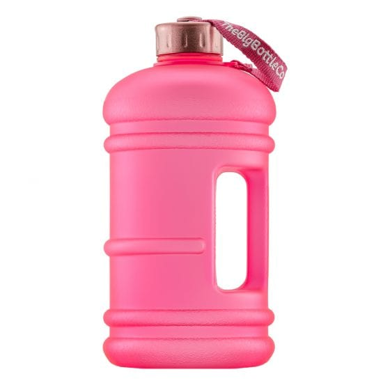 Pink Rose 2.2LBPA Free Water Bottle