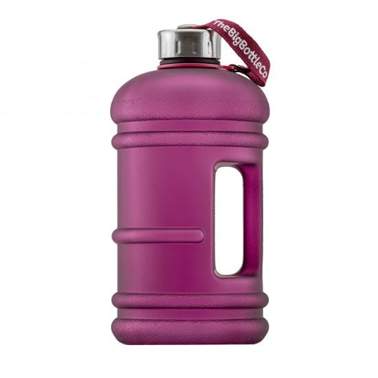 Frosted Plum 2.2L BPA Free Water Bottle